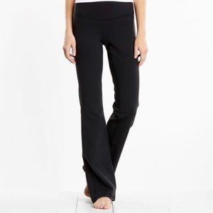 Lucy perfect core black flare leg workout pants